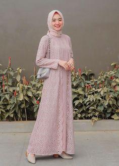 Dress Brukat, Hijab Dress Party, Kebaya Dress, Dress Pesta, The Dress, Dress Outfits, Kebaya Hijab, Dress Brokat Muslim, Dress Brokat Modern