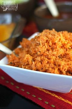 This recipe for Mexican Rice rivals anything you can get in a restaurant. We don't make Mexican food without this yummy side dish.