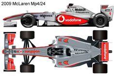 2009 McLaren Mp4/24 formula 1 Mclaren Mp4, F1, History, Historia