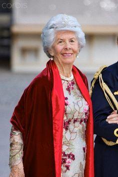 Swedish Royal Wedding - Royal Palace.   Countess Gunilla Bernadotte