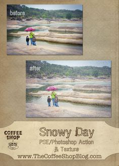 The CoffeeShop Blog: CoffeeShop Snowy Day Action and Texture!!!