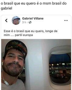 Brasileiro não tem limites KKKKK Wtf Funny, Funny Jokes, Truth Of Life, Little Memes, Just Smile, Best Memes, Funny Photos, Comedy, Nostalgia