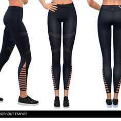 ekinege's Workout Empire - Power - Vent Tights