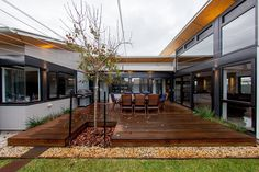 "Passive Resistance House, Sustainable House Day 2016 http://recycledinteriors.org/interior-decorating-design/house-tours/passive-resistance-house-sustainable-house-day-2016/ Nathan McGair is the owner of this lovely sustainable home in Semaphore Park, Adelaide, which is opening its doors for sustainable house day, along with many other homes across the country. The ""Passive Resistance"" house is 215m2, set on a 696m2 block, and is a single storey mixed construction building (comprising some…"