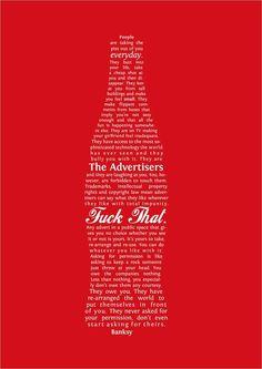 Banksy antiadvertising