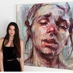Elly Smallwood Drawing and Painting. Originally from Ottawa, Elly Smallwood moved to Toronto to pursue her love of art at OCAD University. Artist Life, Artist Art, Artist At Work, Elly Smallwood, Dark Art Paintings, Art Alevel, Ap Art, Pretty Art, Portrait Art
