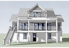 Gray Bay Cottage, 2,571 sf, 4bd/3.5ba l Beach Home Designs l www.DreamBuildersOBX.com