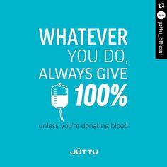 Motivational quote meets medical advice @juttu_official #copywriting