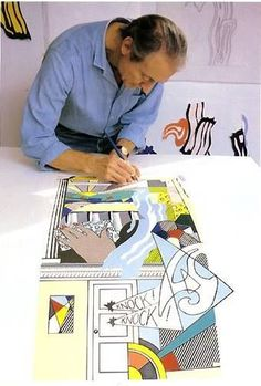 Roy Fox Lichtenstein, né le 27 octobre 1923 à Manhattan et décédé le 29 septembre 1997 à Manhattan, est un des artistes les plus importants du mouvement pop art américain.