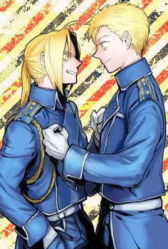 Fullmetal Alchemist.....ahhhhh....I love seeing these two brothers finally back together & normal!!!