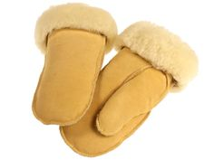 Im Winter mag ich's warm! #Kinder #Handschuhe aus echtem #Lammfell, Gr. 3 - 5