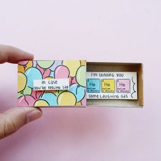 Cute Cheer up Card/ Unique Gifts/ Long Distance Love Matchbox/ Encouragement car. Cute Cheer up Card/ Unique Gifts/ Long Distance Love Matchbox/ Encouragement card for Friends and Family/In case youre feeling sad/ Cheer Up Gifts, Diy Gifts For Friends, Best Friend Gifts, Diy Friend Gift, Cute Birthday Gift, Funny Birthday Cards, Diy Birthday Gifts For Him, Birthday Humorous, Creative Birthday Cards