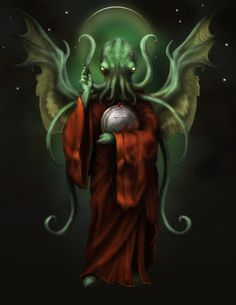 Cthulhu Religious Icon by goosezilla.deviantart.com on @DeviantArt Myths & Monsters, Cute Monsters, Yog Sothoth, Lovecraft Cthulhu, Lovecraftian Horror, Eldritch Horror, Lord, Call Of Cthulhu, Religious Icons