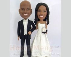 Cheap Custom Wedding Cake Toppers look like you by HoneyMeng Wedding Topper, Wedding Cakes, Wedding Stuff, Wedding Ideas, Personalized Wedding Cake Toppers, Black Tie Affair, Weeding, Buy Cheap, Dessert Ideas