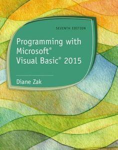 Download free Programming with Microsoft Visual Basic 2015 pdf