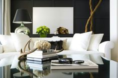 White Sofa Living Room Light Grey Wallpaper 210 Best Color The Images Sweet Home How To Style A Coffee Table Decorwhite