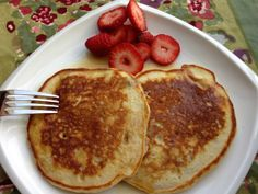 Deb's Perfect Pancake Recipe via omgyummy.com