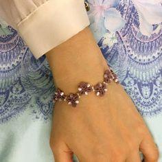 The Kim and I (Tatting Lace): Tatting Lace Free pattern) Triangle Noon bracelet