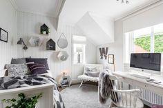 Perfect scandinavian look - teenager bedroom