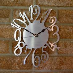 clocks | Contemporary Designer Clocks | The Number Clock | Kyrios in ...
