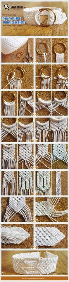 how to make string bracelets