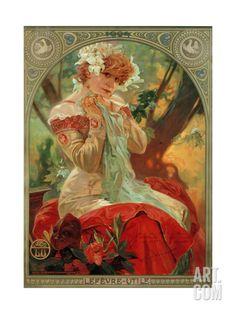 Sarah Bernhardt (1844-1923) Lefevre-Utile, 1903 Giclee Print