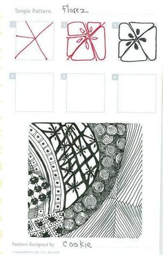Doe@ding: A Zentangle/ Doodle a day 35