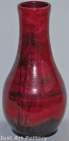 ◭ Penchant for Pottery ◮ Weller Pottery Lamar Vase from Just Art Pottery