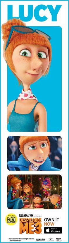 Despicable Me 3 on iTunes Disney Pixar, Disney Cartoons, Disney Movies, Walt Disney, Disney Quiz, Minions Despicable Me, My Minion, Dreamworks, Planner 2018