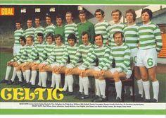 Celtic team group in 1971.