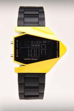 $10 Dumb Watch Experiment X Girl Talk Black/Yellow - JackThreads: http://www.jackthreads.com/invite/tobytoby7