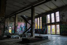 Berliner Eisfabrik. Abandoned ice factory, one of Germany's oldest, which managed to survive two world wars, several fires and countless parties but is about to meet its fate at the hands of developers despite being a protected building | Köpenicker Straße 40/41, 10179 Berlin, Germany