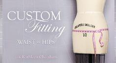Custom Tailoring on Craftsy