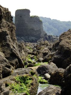 #Salcombe Castle off North Sands, Salcombe, Devon