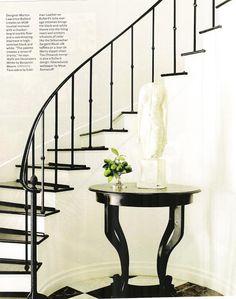 simple iron railing design, classic looking | Designer Martyn Lawrence Bullard