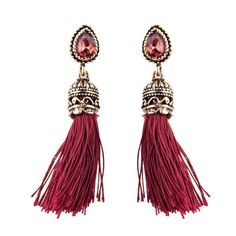 ~ Drop Dangle Tassel Earrings ~
