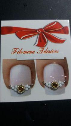 Adesivos de jóias de unhas...