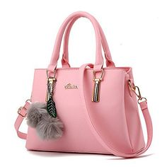 New Trending Purses: NWT Womens 3 Seperate Compartment Medium Size Leather Crossbody Top-handle Satchel Handbags,Pink. NWT Womens 3 Seperate Compartment Medium Size Leather Crossbody Top-handle Satchel Handbags,Pink   Special Offer: $31.99      111 Reviews This bag is beautifully made. The material is good, and substantial. The hardware is high quality. It's both classic  chic. This is a bag...