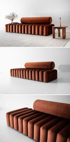 Small Home Interior Couches & Sofas - new moon couch - Unique Furniture, Sofa Furniture, Furniture Design, Custom Furniture, Contemporary Furniture, Unique Sofas, Industrial Furniture, Home Interior, Interior Decorating