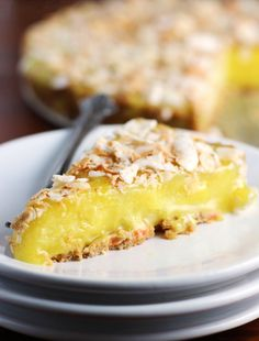 Eggless Lemon Pie and GF graham cracker crust   http://www.worthcooking.net/eggless-lemon-pie/