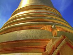 Golden Wat Bowonniwet In Bangkok by Igor Prahin - Golden Wat Bowonniwet In Bangkok Photograph - Golden Wat Bowonniwet In Bangkok Fine Art Prints and Posters for Sale