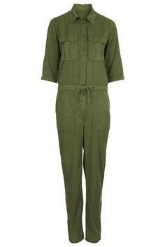 Top Shop - Combinaison style militaire