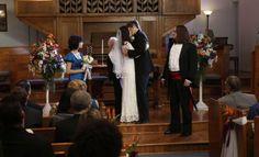 Jimmy and Sabrina wedding from Raising Hope