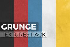 A great pack of 5 high resolution grunge textures! Download it now for free: http://www.graphicdome.com/portfolio-items/grunge-textures-pack/