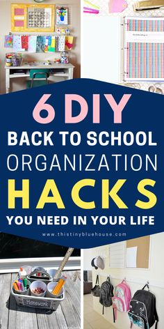 Get organized for school with these epic organization hacks you gotta try this school year. From workspaces to pencil caddy's these DIYs are super efficient for those who want to get and stay organized. Back To School Organization, Playroom Organization, Home Organization Hacks, Organizing Life, Household Organization, Organization Ideas, Learning Apps, Learning Activities, Time Management Activities