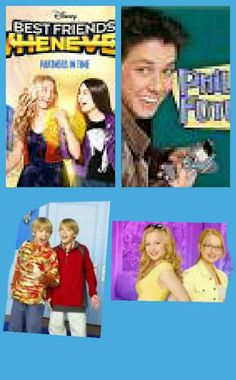Liv and Maddie,Zac and Cody, Phill of the future and Best friends whenever