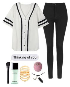 """just chillin✌️"" by zombiegirl101 ❤ liked on Polyvore featuring Topshop, NARS Cosmetics, Chanel and Theodora Warre"