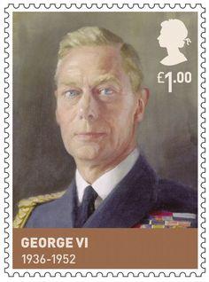 House of Windsor.                           Issued Feb 2012.                                     George VI                                       1936-1952