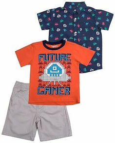 12M BABY BOY/'S 2-PC OUTFIT SET SIZES: 0-3M *NWT- CARTER/'S