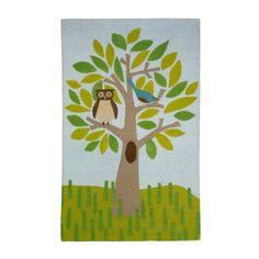 Dwell Studio Owl Tree Multi Large Rug